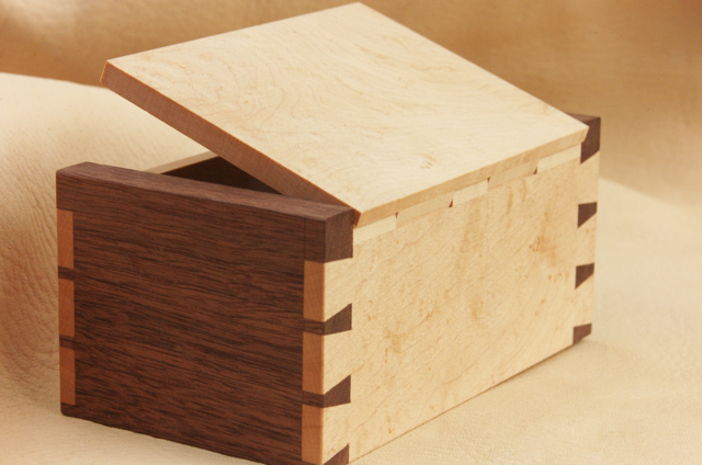 wooden box hinges